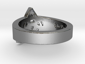 """""""Charmed"""" Inspired Ring - Size 8 Ring Size 8 in Polished Silver"""