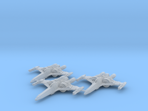 Z-95 Mk4 S Wing 1/270 in Frosted Ultra Detail