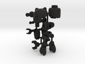 CoolEgo Articulate Minifig in Black Strong & Flexible