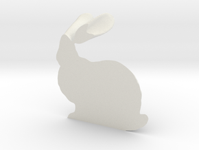 Stanford Bunny in White Strong & Flexible