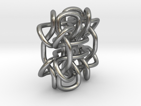 Wings3D Knot in Raw Silver