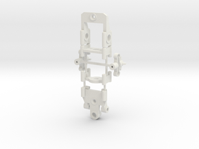 Ff-030 Narrow Adjustable (10-2013) in White Strong & Flexible