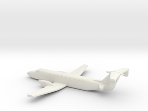 Beechcraft 1900 Scale 1:700 in White Strong & Flexible