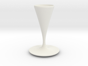 watson vase  in White Strong & Flexible