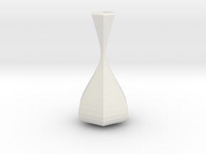 delphinium vase in White Strong & Flexible