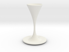 moriarty vase  in White Strong & Flexible