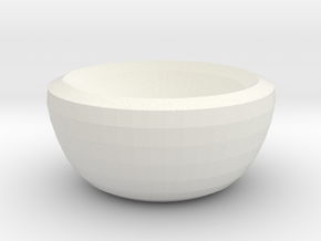 venus bowl in White Strong & Flexible