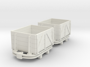 55n2 skip dropside box  in White Strong & Flexible