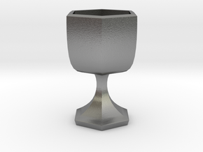 citrus maxima chalice in Raw Silver