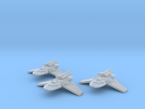 1/2256 X4 Gunship 3x in Frosted Ultra Detail