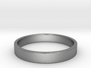 simple ring Ring Size 7 in Raw Silver