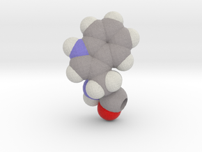 W is Tryptophan in Full Color Sandstone