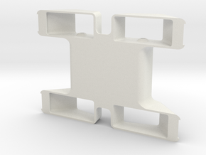 Mel Chassis in White Strong & Flexible