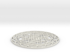 Yantra in White Strong & Flexible