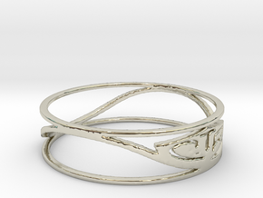 Thin CTR (Size 6.75) in 14k White Gold