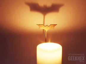 Batman 2008 - Spotlight Candle Attachment in Stainless Steel