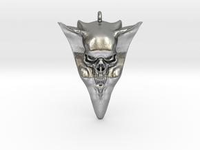 Skull pick 1 in Raw Silver