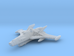 EDSF Peregrine Class Torpedo Bomber in Frosted Ultra Detail
