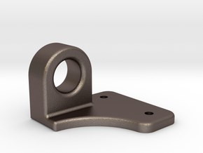 """Coupler Release Bracket A - 2.5"""" scale in Stainless Steel"""