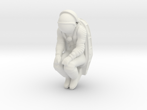 Cosmonaut & Seat 1/45 in White Strong & Flexible