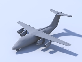 1:200 - BAE 146-100 (L) in Frosted Ultra Detail