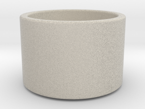 Minimal Tea Light Candle Holder in Sandstone