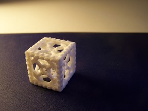 Industrial d6 Plastic in White Strong & Flexible
