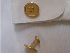 ButtonCufflinks in Stainless Steel
