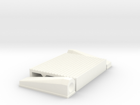 """1/12 Intercooler 16"""" Flow Length By 12"""" Wide in White Strong & Flexible Polished"""