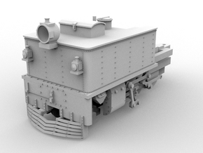 G42 Front Unit(S/1:64 Scale) in White Strong & Flexible