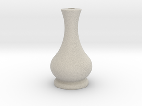 Flower vase 1 in Sandstone