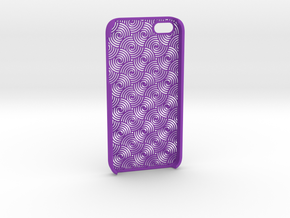 Iphone5 Case 2_5 in Purple Strong & Flexible Polished