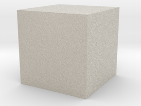 Cube (small) in Sandstone