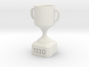 MR. TORRES'S TROPHY in White Strong & Flexible