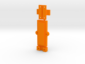Clamp Group in Orange Strong & Flexible Polished
