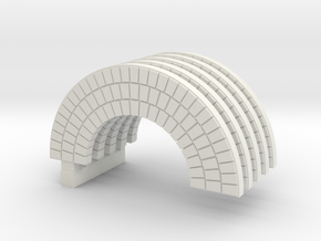 Brick Arch HO Modified  X 5 in White Strong & Flexible