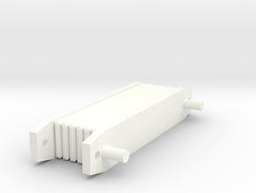 Oilcooler 1:10 in White Strong & Flexible Polished