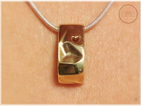 Life Charm in Polished Brass