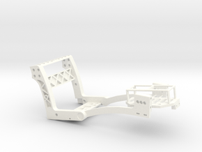 MicroCoaster V1.7.2 300mAh Lipo in White Strong & Flexible Polished