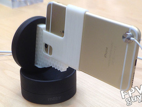 iPhone 6+  adapter for Motrr Galileo  in White Strong & Flexible