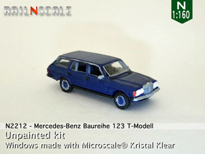 Mercedes-Benz T-Modell (N 1:160) in Frosted Ultra Detail