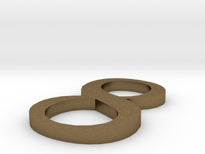 Number-8 in Raw Bronze