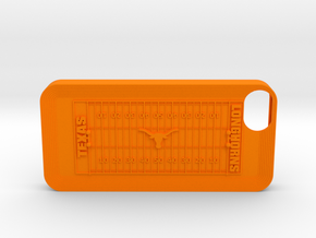 IPhone 5 Football UT in Orange Strong & Flexible Polished