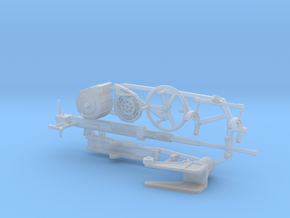 1:20 scale 20mm Oerlikon Gun Set (w/o Pedestal) in Frosted Ultra Detail