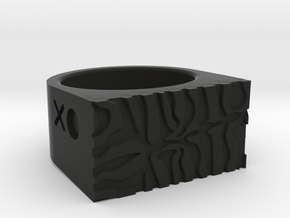 Tiger Ring in Black Strong & Flexible