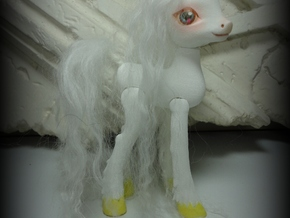 Canter Colts Couture Unicorn in White Strong & Flexible