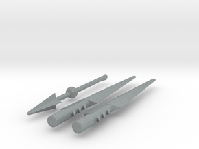 TF4: AOE Warriors of Freedom kit weapons in Polished Metallic Plastic