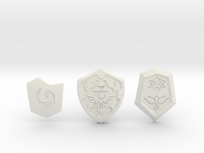 Shield Pack I in White Strong & Flexible