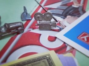 Vintage Camera - Monopoly Game Piece (Rags to Rich in Stainless Steel