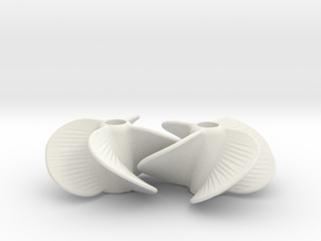 Boat Propellor 5 Studs in White Strong & Flexible